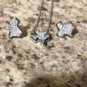 Jewelry - Texas necklace and earring set